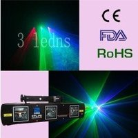 Laser Light 50mW 532nm Green Laser 100mW Violet Blue 100mW Red For Disco Party DJ Equipment
