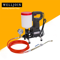 Upgrade Alloy Grouting machine Grouting Injection Pump High pressure leak stoppage machine waterproof crack repair