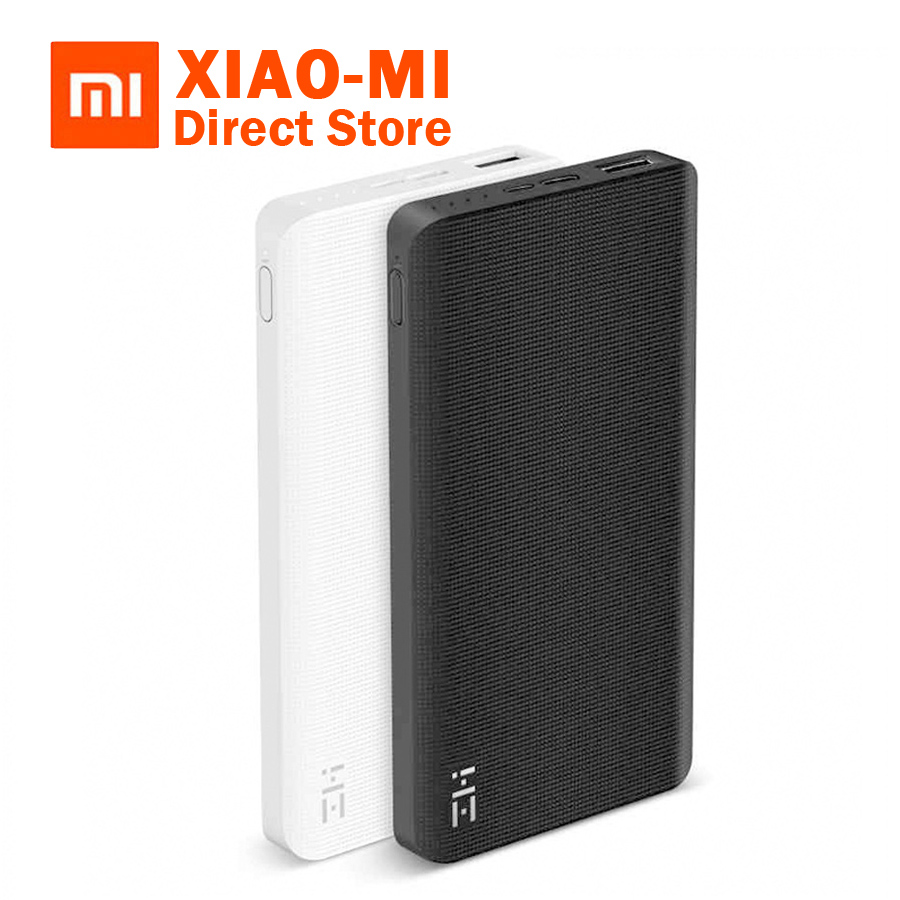 Original Xiaomi ZMI 10000mAh Power Bank Two-way Quick Charge 2.0 PowerBank With Type-C Charger For iPhone iPad Samsung недорго, оригинальная цена