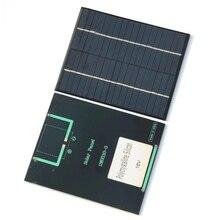Минимальный эпоксидной солнечных батарей модуль 2 Вт 18 В поликристаллического Панели солнечные для 12 В Батарея Зарядное устройство DIY Системы просвещение 136*110 мм