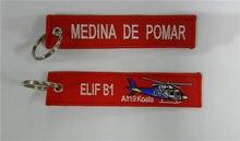 Medina De Pomar Elif B1 A119 Koala Chaveiro Tag Saco de Bagagem Motocicleta Tripulação Piloto Da Aviação