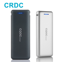 CRDC Quick Charge Mini Power Bank 20000mAh Dual USB Portable Fast Charger Powerbank For IPhone Samsung