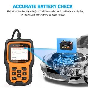 Image 5 - Autophix om129 obd2 scanner ler códigos de diagnóstico automático scanner verificar motor bateria carro código leitor obd ferramentas