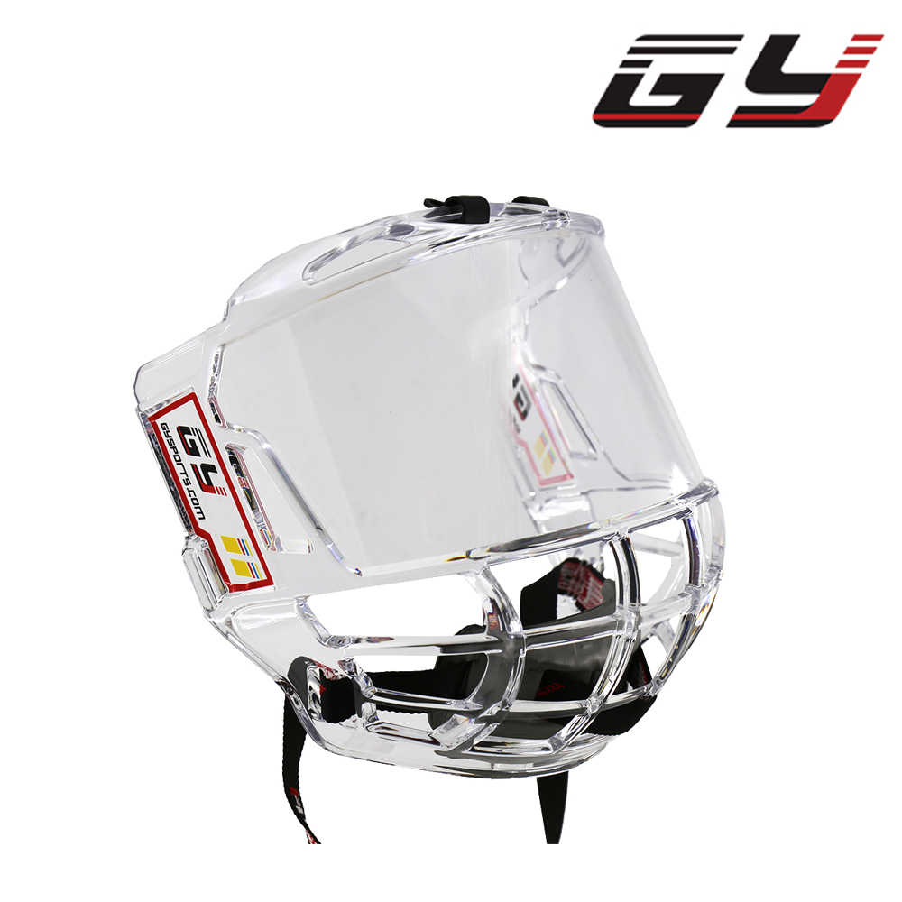 ee2af2c9 Detail Feedback Questions about GY SPORTS Direct Sale Store Double Sided  Anti Fog Ice Hockey Visor Cage Transparent Great View Free Shipping on ...