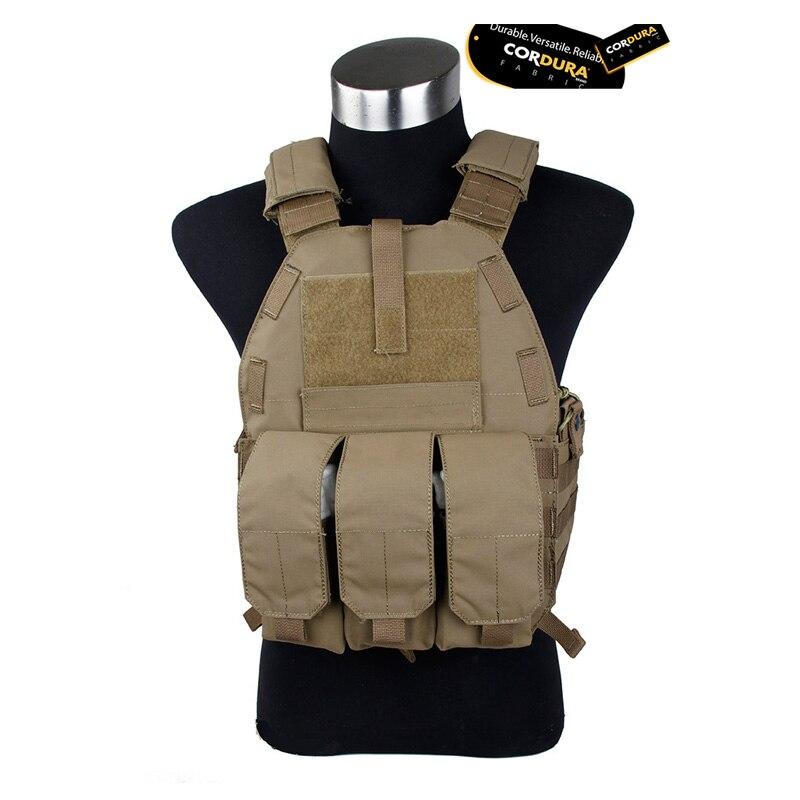 CB CS Tactical vest Matte CB CORDURA Fabric 2327 Tactical vest MOLLE system
