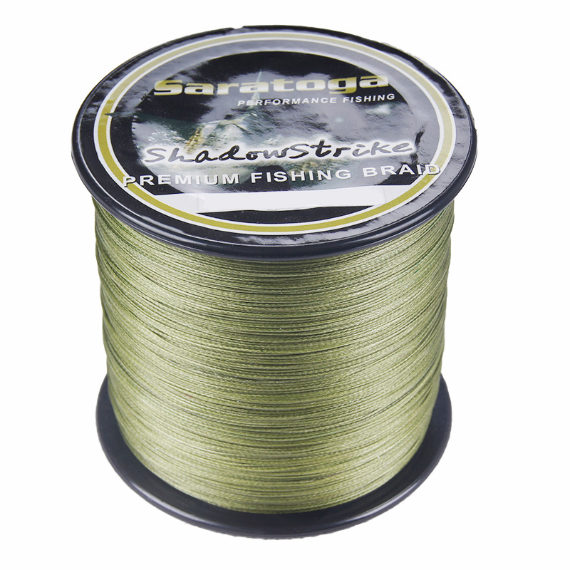 Buy saratoga 8 strands 100 pe braided for Where to buy fishing line