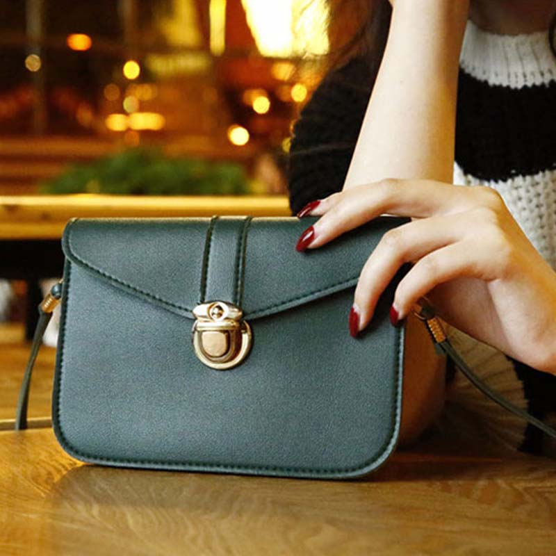 2019 Women Pu Shoulder Bag messenger bags women leather Female Casual Mini bag