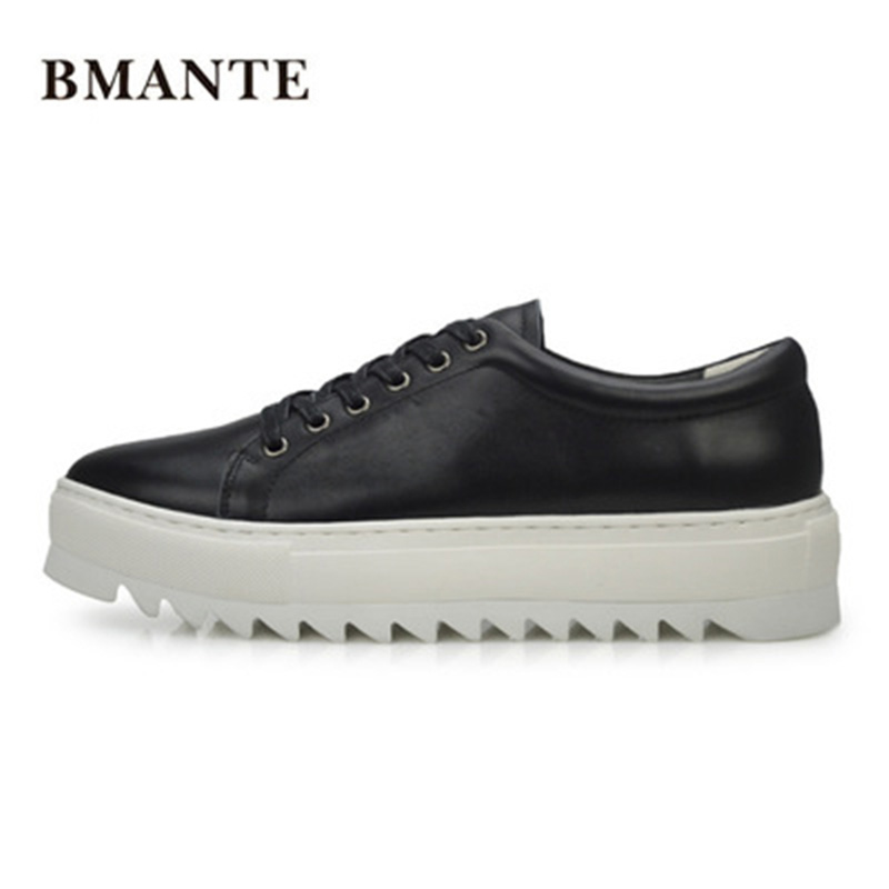 2018 Genuine Leather Shoes Casual Lace-Up Business Flats Spring Black Solid Shoes Luxury Trainers Summer Male Adult Shoes new men genuine leather shoes luxury trainers summer male adult shoes casual flats solid spring black lace up shoes