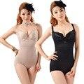 Женщины Цветочные Боди Корректирующее Белье Underwear Плюс размер Body Shaper Талии Корсеты Пряжки В Промежности Высокой упругой