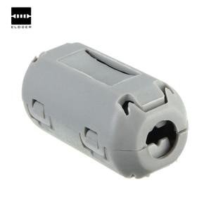 10pcs New Electric TDK Grey 5mm Clip On EMI RFI Filter Snap Around Ferrite Nickel Zinc