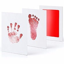 Eco-Friendly Printing Oil Souvenir Baby Footprint Kit