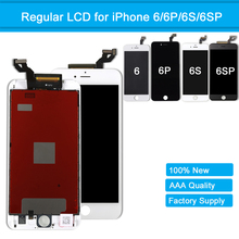 LCD Screen for iPhone 6 6 Plus AAA+ Quality Touch Screen Display Digitizer Assembly Replacement for iPhone 6S 6S Plus With Frame yelping 3 in 1 grade a quality for iphone 6s lcd frame touch pad free gift digitizer assembly
