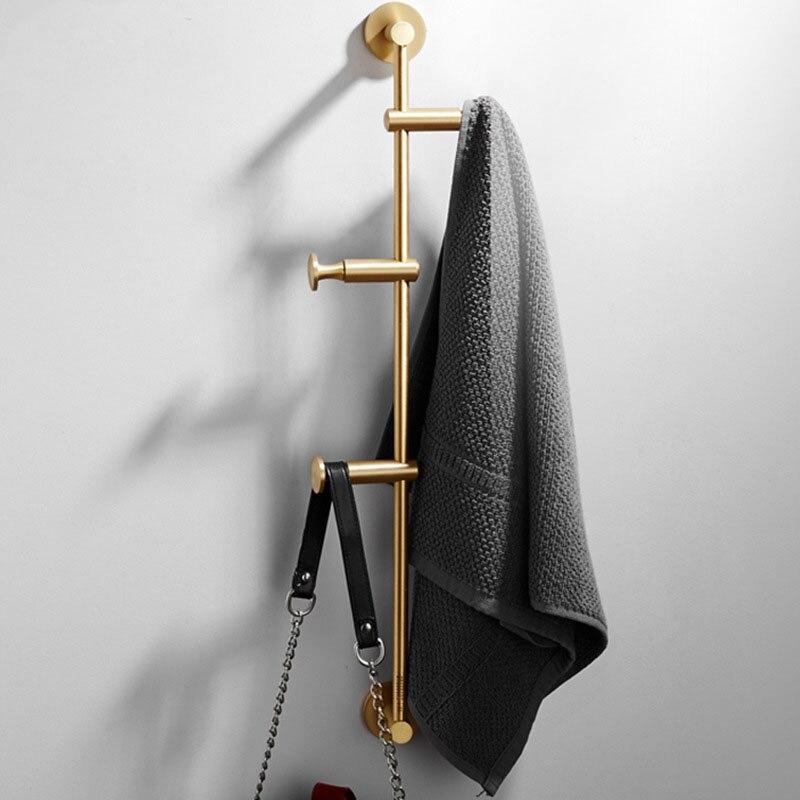 60cm 황동 옷감 북유럽 벽 걸이 침실 수납 천 홀더 무료 배송-에서행어 & 시렁부터 홈 & 가든 의  그룹 1