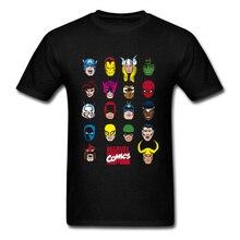Avengers Marvel Endgame T Shirts Justicial League Legend Hero Tshirts Men Spiderman X-men Batman Ultimate Captain America цена и фото
