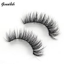 1 pair 3D Handmade Mink Eyelashes individual  Natural False Eyelashes for Beauty Makeup fake Eye Lashes Extension-A15 недорого
