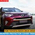 ABS передняя сторона Нижний Бампер защитная пластина Накладка 1 шт для Toyota RAV4 Rav 4 2014 2015 2016 2017 2018