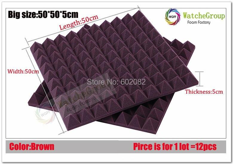 New Decor Foam acoustic panel sound acoustic foam acoustic