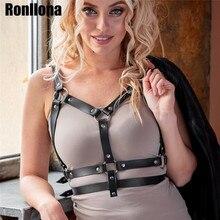 Body Harness Leather Lingerie Bondage Cage Belt For Women Garter Suspender Sexy harness Garters