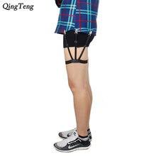 c0b11782c9 Mens camisa Mens queda ligas tirantes para camisas de caballero pierna  elástico para hombres camisa tirantes