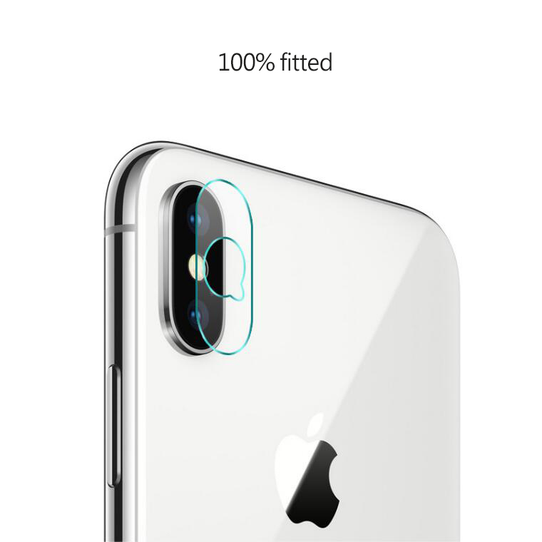 Mobile Phone Lenses Protector for iPhone x 8 Plus LED