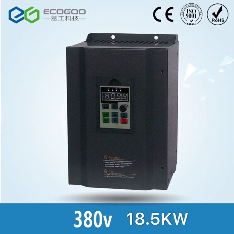 Free Shipping Hot Sale CE approced Variable ac frequency inverter 18 5KW 50 60HZ VFD 18