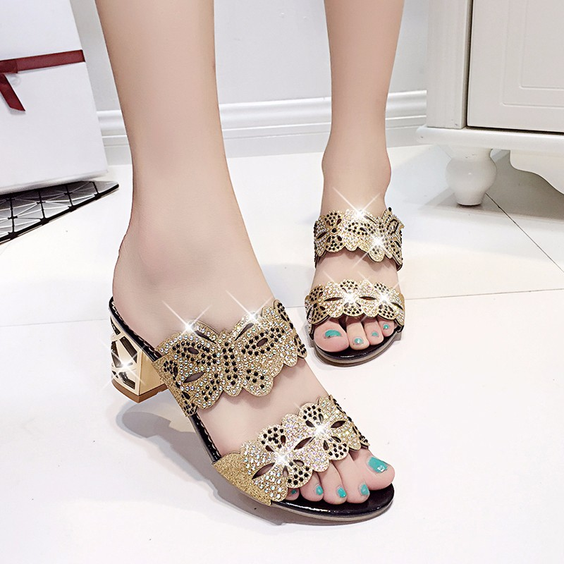 new fashion rhinestone cut-outs women square heel party sandals with butterfly - free shipping! New Fashion Rhinestone cut-outs Women Square Heel Party Sandals with Butterfly – Free Shipping! HTB1e7ikLpXXXXXiXVXXq6xXFXXXD