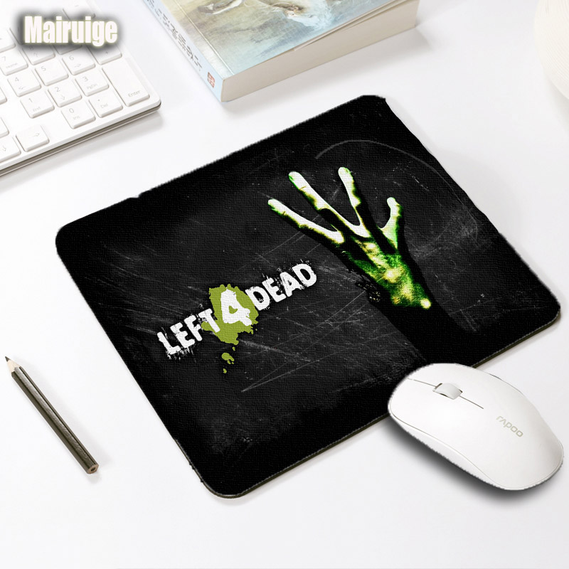Mairuige Left 4 Dead Style Mousepad Horror Games Small Size Laptop Keyboard Gamer Office High Quality Rubber Soft Table Mats