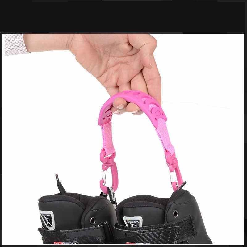 Łyżwy uchwyt Hook buty do jazdy na rolkach różowe/czerwone/czarne kolory uchwyt do Rollerblade Strong Practical