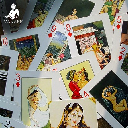India Style Sexy Poker Set Sex Playing Cards Different Arts Pokers Present To Friends Couple Collection Playing Card Sets