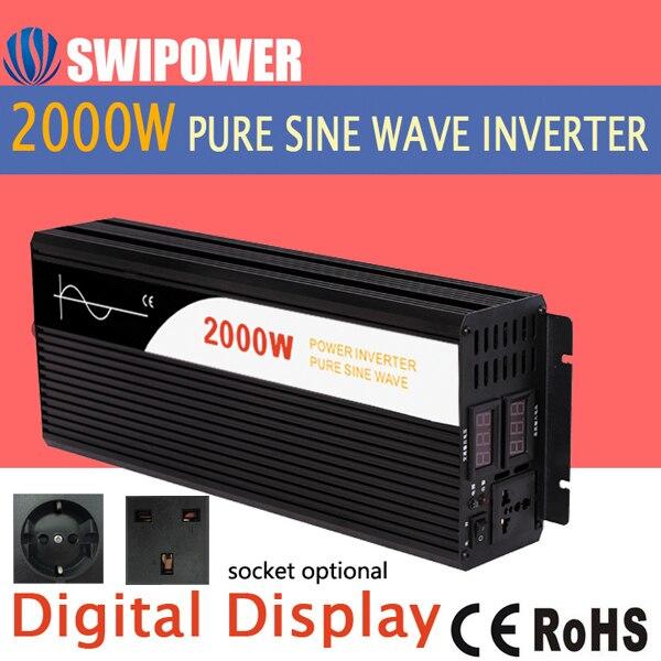 Power Inverter 2000W Pure Sine Wave