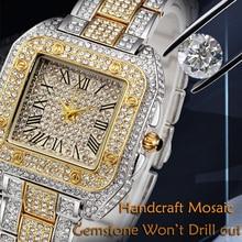 hot deal buy relogio feminino new quartet women's quartz watches ladies dresses watch top brand luxury clock steel bracelet waterproof watch