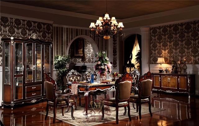 Eiken eetkamer tafels massief houten eettafel stoelen woonkamer ...