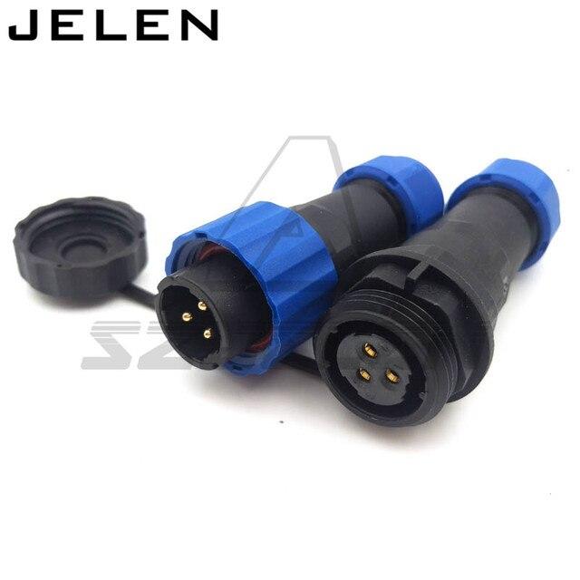 SD16 Wasserdichten Stecker 3pin stecker und buchse IP68 ...