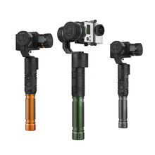 Free shipping Assembled 3 axis handheld gimbal stabilizer for Gopro Gopro 3+ Gopro 4 Xiaoyi camera RC quadcopter drone aerial