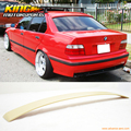 For 92-98 BMW E36 3 Series 4Door AC Style Unpainted Roof Spoiler - ABS US Domestic Free Shipping