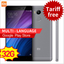 "Original Xiaomi Redmi 4 Pro 3GB RAM 32GB ROM Snapdragon 625 4100mAh Fingerprint ID 5.0"" Metal Body 13.0MP Redmi4 Mobile Phones"