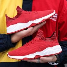Мужская мода кроссовки сетчатые дышащая легкая повседневная обувь для взрослых молодежи мужской обувь кроссовки человек бренд красовки zapatos hombre