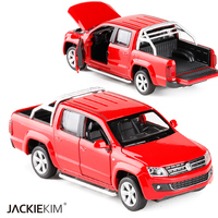 High Simulation Exquisite Caipo Car Styling Volkswagen Amarok Model 1 30 Alloy Truck Model Fast Fruious