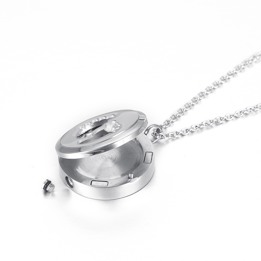 Baby Foot Combination stytle Jewelry Memorial Ashes keepsake Essential Oil Diffuser Pendant Locket Air Freshener Urn Necklace