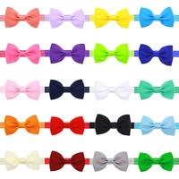 10PCs Set Cute Kids Girls Bowknot Toddler Bow Head Hair Band Headwear Accessories