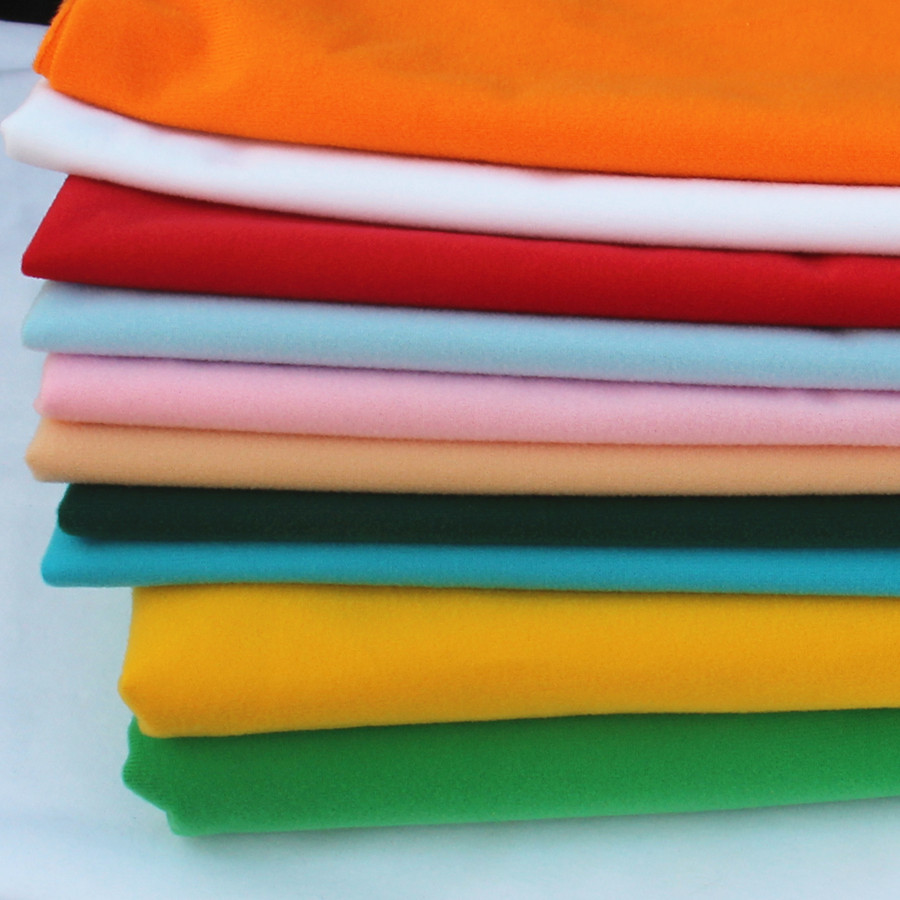 40x50cm loop fleece fabric velvet for sewing stuffed toys for Cloth material for sewing