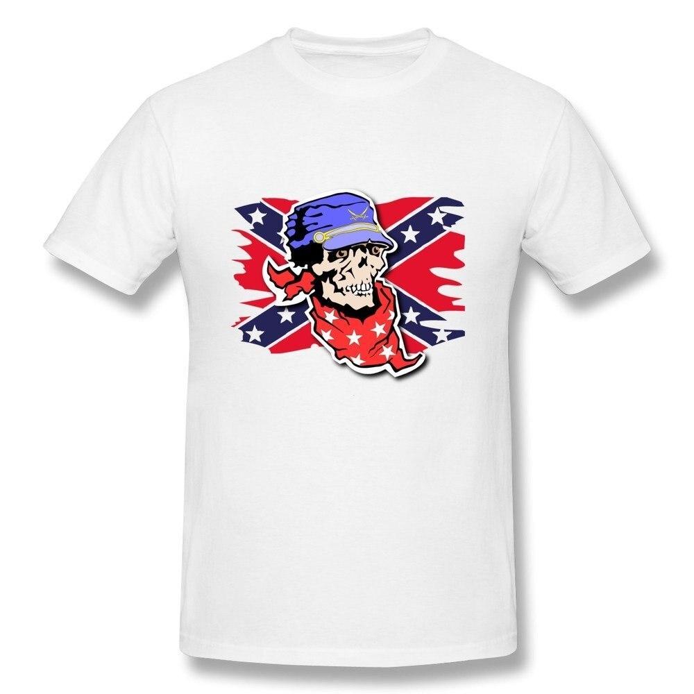 2019 Nieuwe Zomer Mode Mannen T shirt Mannen Een Schedel Soldaat T shirts Wit T shirt Casual T shirt in T Shirts from Men 39 s Clothing