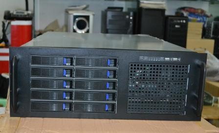 4U4310 10 disk hot plug server cabinet industrial control storage cabinet monitoring box large board 2u 4 disk hot plug ultra short server box storage monitor cabinet nsa case data cabinet