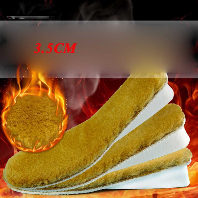 1 คู่เพิ่มพื้นรองเท้ารองเท้า Pad สำหรับผู้หญิงและรองเท้าผู้ชายฤดูหนาวหนา Plush Insoles ฟรีตัด Xammep
