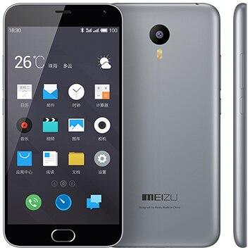 """Original Meizu M2 Note 2 16GB Mobile Phone MTK6753 Octa Core 5.5"""" 1920X1080 Android 5.1 Lollipop 2GB RAM 13MP Dual SIM 4G LTE"""
