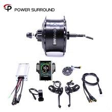 Bafang Rueda de Motor sin escobillas para bicicleta eléctrica Kit de conversión de bicicleta eléctrica a Color, resistente al agua, 48V, 750w, con sistema Ebike, 2020