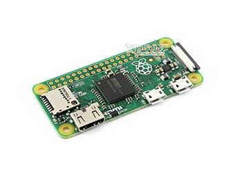 Raspberry Pi Zero W paquet D, avec chapeau de moyeu USB Micro carte SD, adaptateur d'alimentation et composants de base