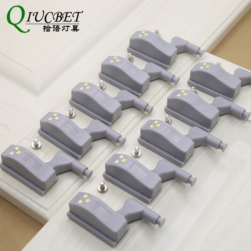 Lights & Lighting Mini Led Sensor Under Cabinet Lights For Kitchen Bedroom Closet Wardrobe Night Light Battery Operated 10pcs/lot