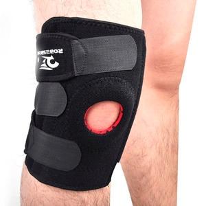 New ROBESBON Brand Adjustable Elastic Protective Gear Knee Pads Footaball Basketball Sport Safety Support Brace Kneepads Running
