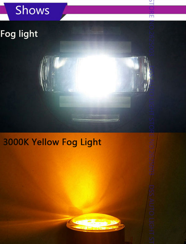 LED Fog Light with Daytime Running Light DRL Front Fog Lamps for Toyota RAV4 Camry Solara Yaris Avalon Highlander Hbbrid Matrix Corolla Venza Prius (12)